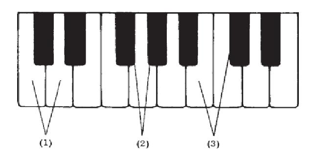 intervalos  distancias musicales