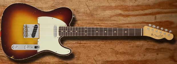 Fender Custom Shop Releases Limited-Edition Sheryl Crow Signature Telecaster